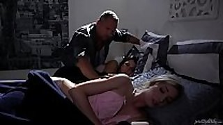 Schoolgirl drilled by her firend's dad - zoe parker