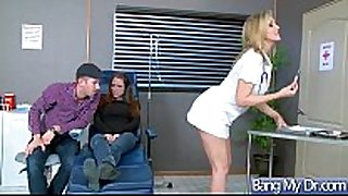Sex adventures between doctor and sexually concupiscent patient...