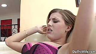 Husband copulates hot cheating white hotties in front of his cheating amateur immodest bitch messy bitch slutty white hotwife
