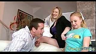 Husband and white women fuck the babysitter 096