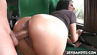 Horny latin chick bitch gets what this babe craves 04