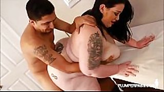 Big gazoo bbw magnificence foxxx can not live out of massive latino dick
