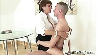 Cuckold watches Married bitch ride