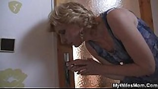 She copulates her sexually excited son in law