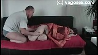 Homemade german sextape showing 2 lascivious amate...
