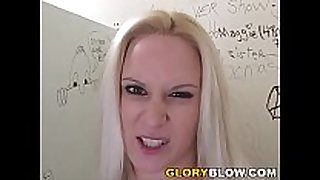 Ruth blackwell gives fantastic oral fun to a black...
